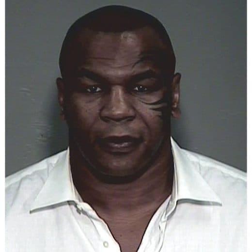 Mike Tyson mugshot