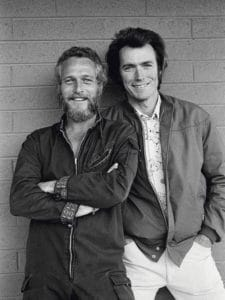 Paul Newman and Clint E
