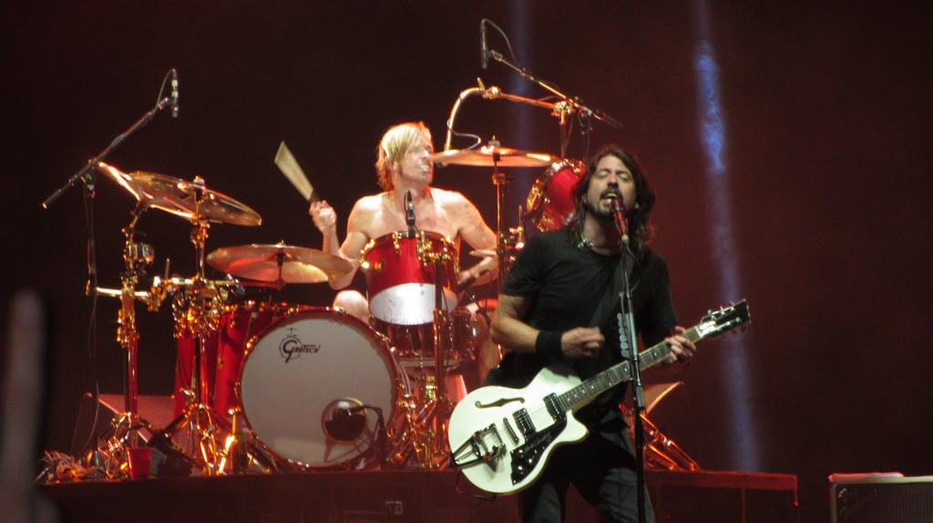 Foo Fighters part of our 2018 gig guide