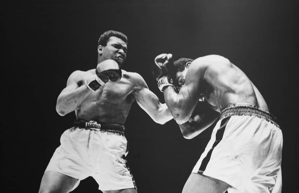 Muhammed Ali boxing