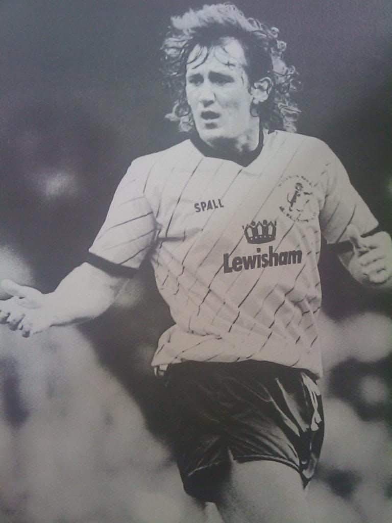 Terry Turlock in action for Millwall