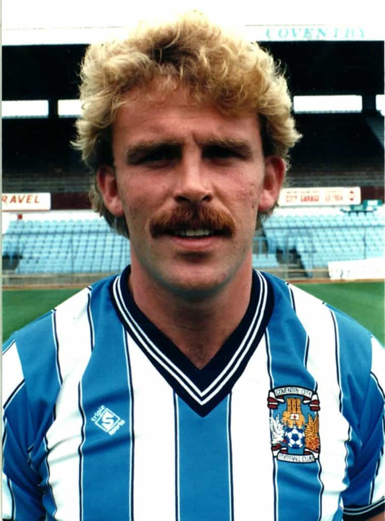 Brian Kilcline in a Coventry City shirt
