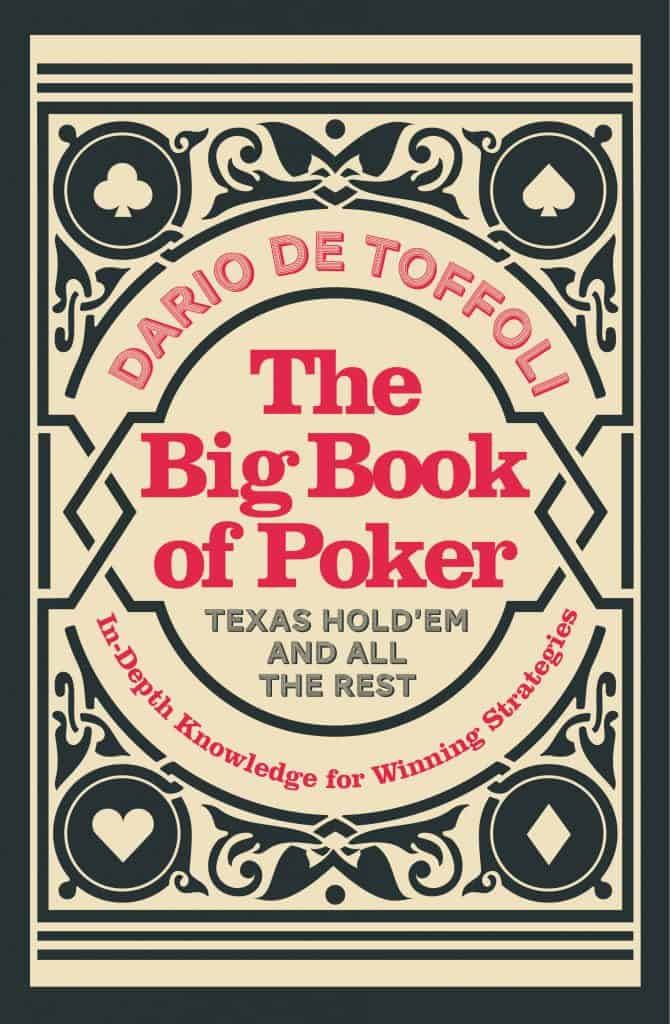 The book cover for The Big Book of Poker