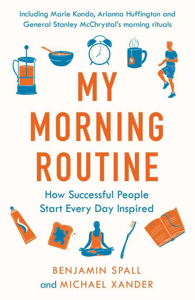 The book cover of My Morning Routine