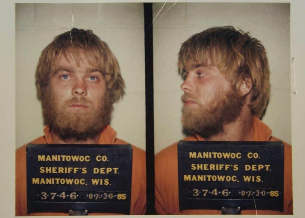 Steven Avery's Police mugshot