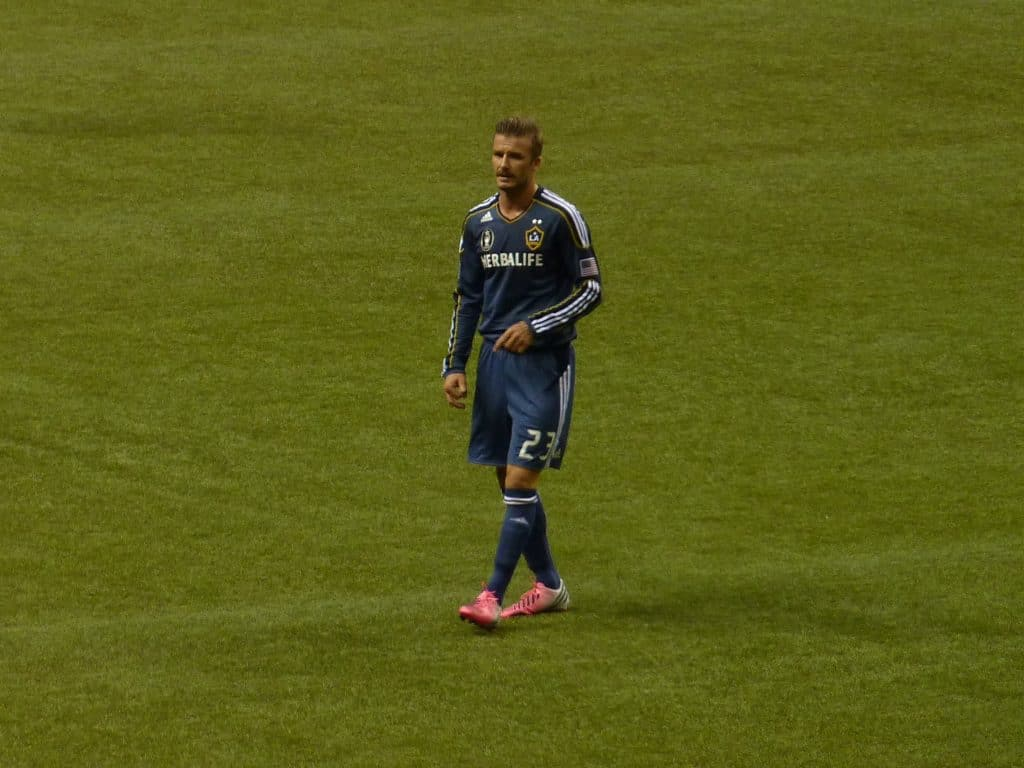 david Beckham turning out for LA Galaxy