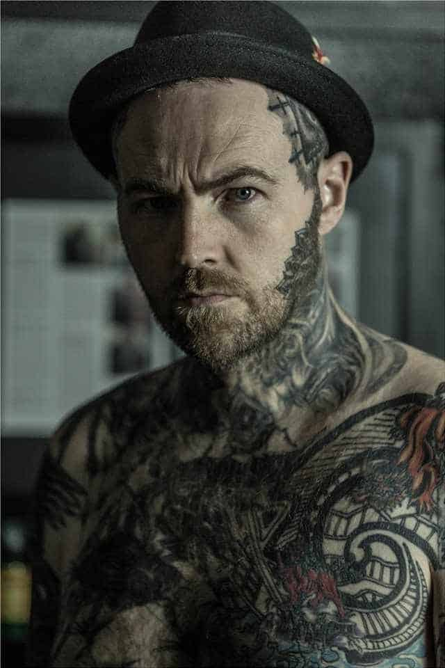 Tattooist Kevin Paul
