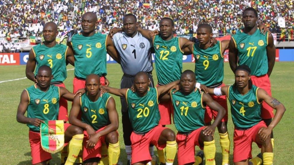 Worst football kits - Cameroon 2002