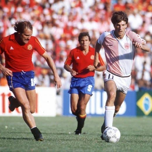 Iconic football kits - Denmark 1986