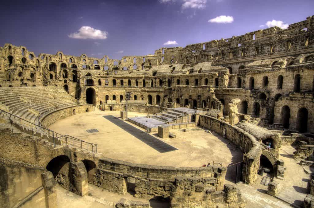 Tunisia colliseum