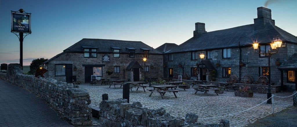 One of the most haunted pubs in Britain - Jamaica Inn