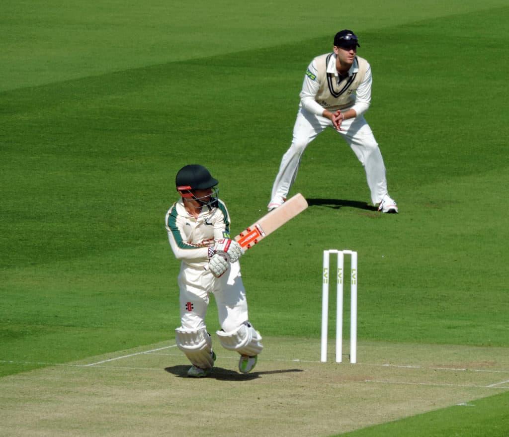 James Taylor batting at Lords