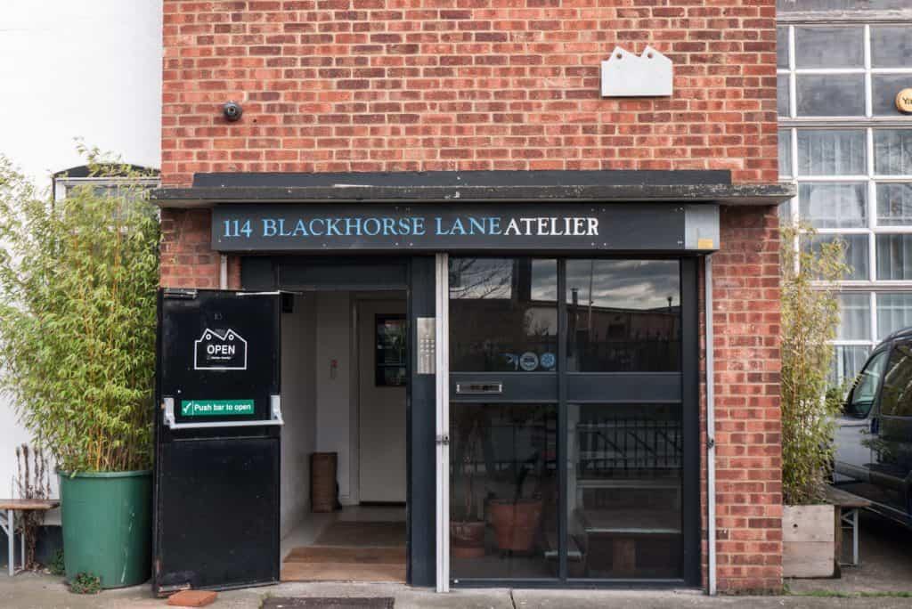 The Blackhorse Lane shop front