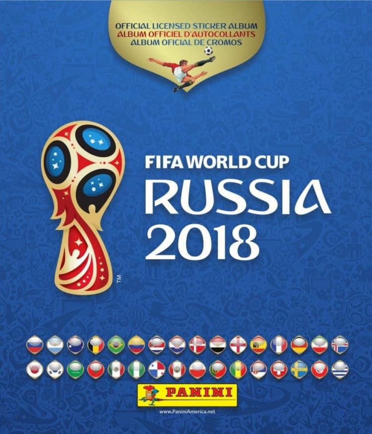 Panini World Cup sticker album