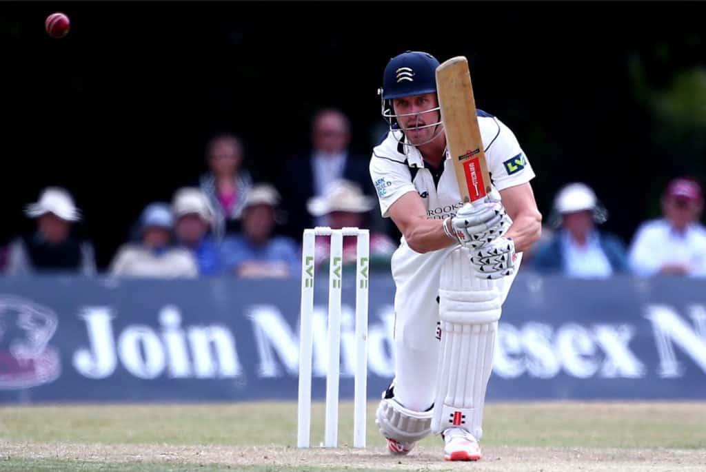 Nick Compton batting