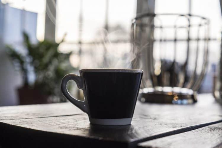 A cup of Bulletproof coffee