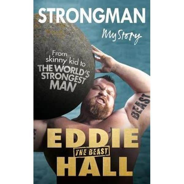 Strongman Eddie Hall book cover