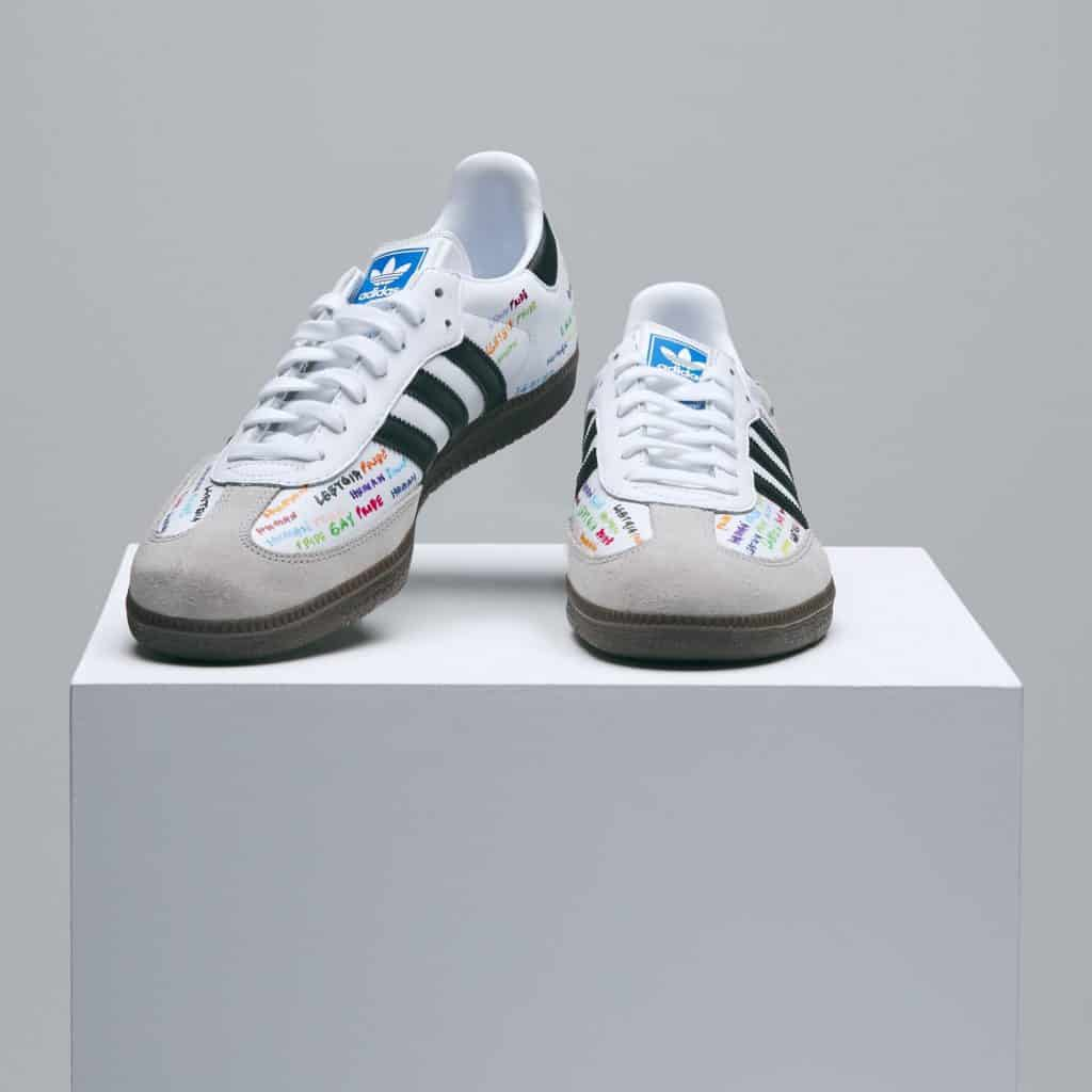 Pharrell Williams adidas Pride Shoe