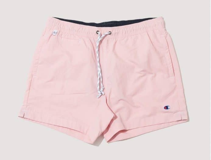 Summer style essential pink Champion shorts