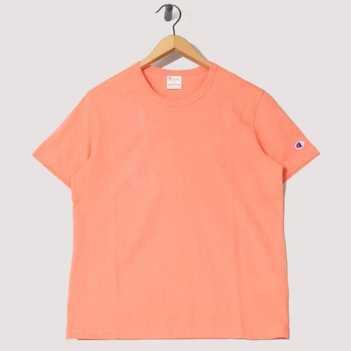 Summer style essential peach Champion T-shirt