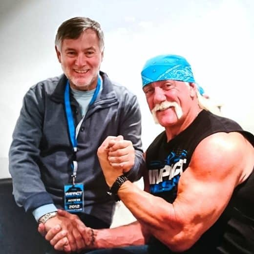 Martin Goldsmith & Hulk Hogan