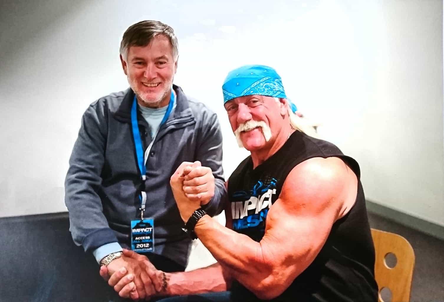 Martin Goldsmith & Hulk Hogan