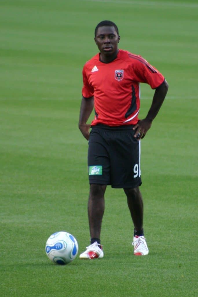 Freddy Adu on the pitch