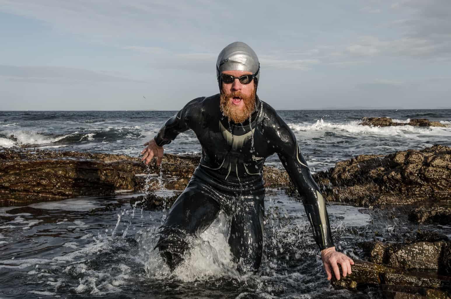 Endurance athlete Sean Conway