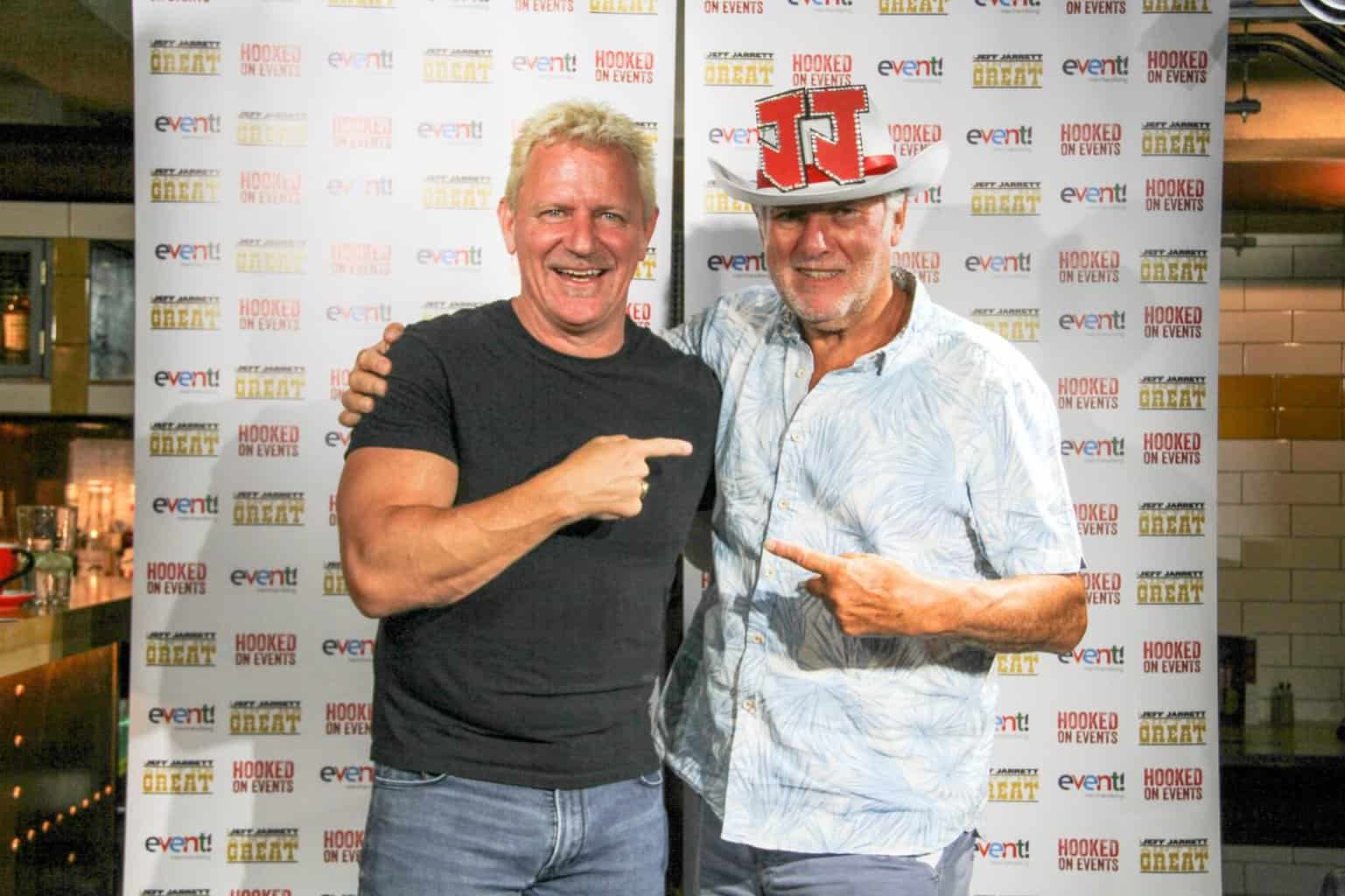 Jeff Jarrett with Martin Goldsmith