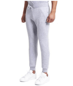 Simple grey jogging pants