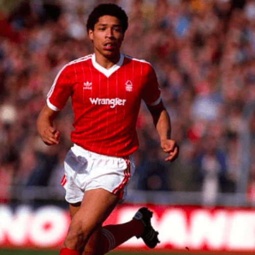 First Division Football kits, Des Walker in the Nottingham Forest Home 1983-84