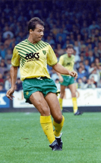 Norwich City home kit 1989-90