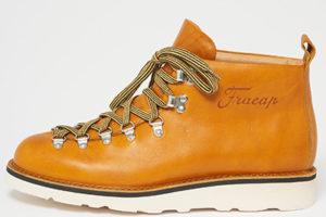 M120 Scarponcino Vaccheta Yellow Leather Boots