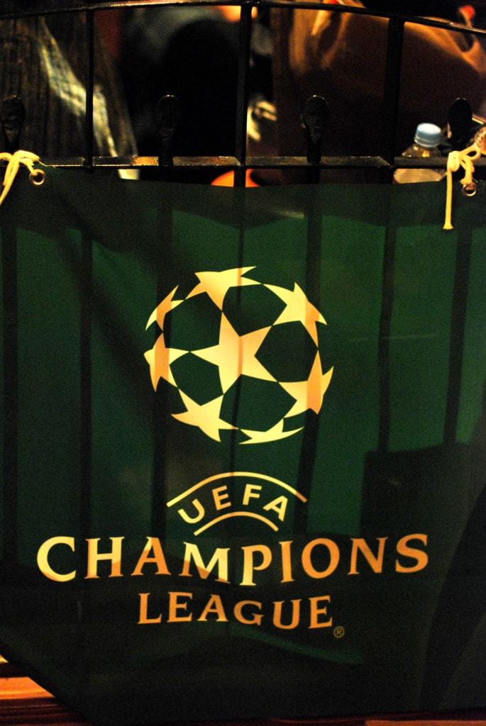 Heineken UEFA champions league tapestry