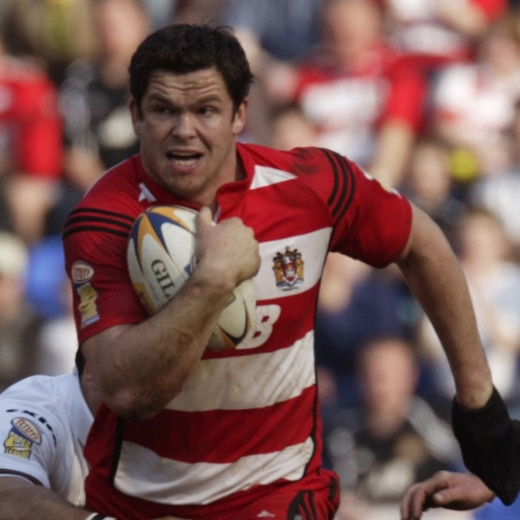 Andy Farrell playing for Wigan. One of the toughest rugby league players from the UK.