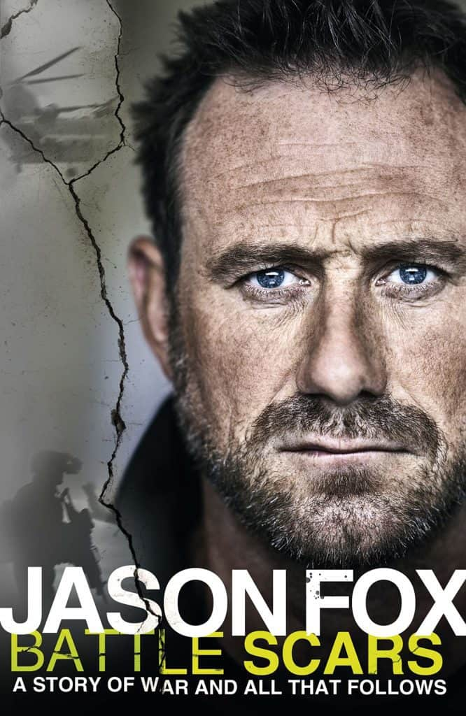 Jason Fox's Battle Scars book cover