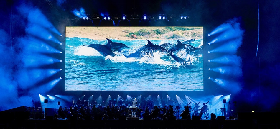 Blue Planet II performance at the O2