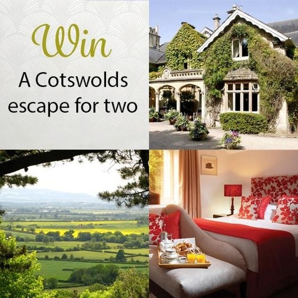 A collage of cotswolds images