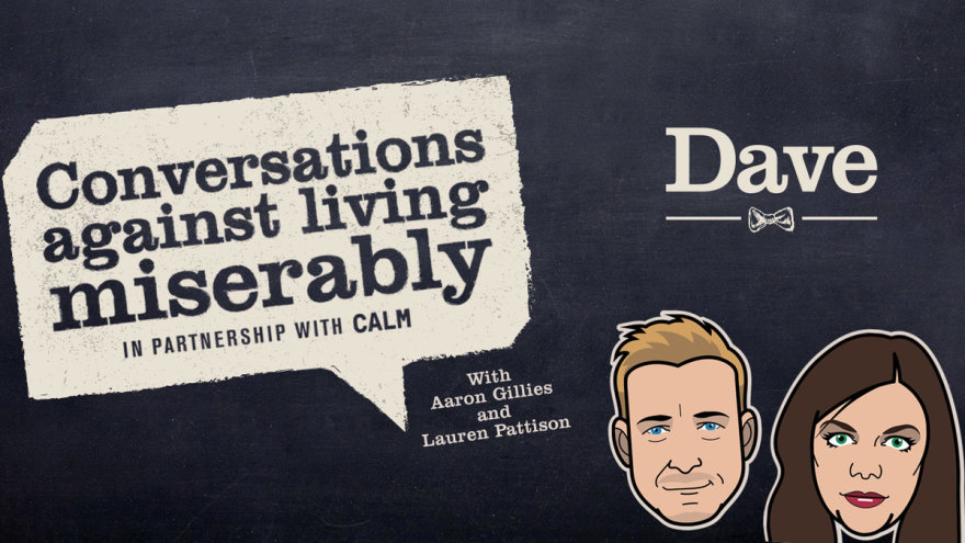 Conversations against living miserably podcast