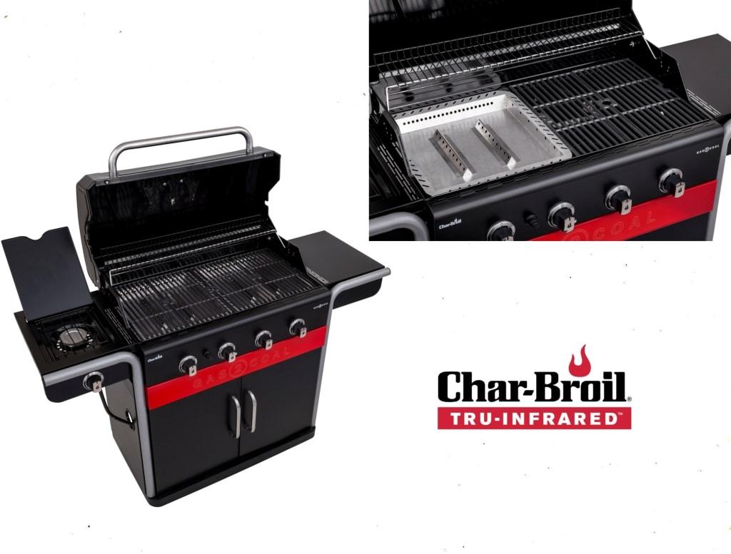 Char-Broil Gas2Coal BBQ close up