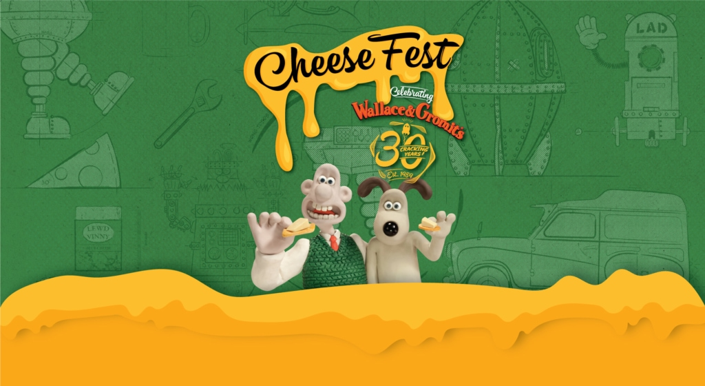 The Wallace and Gromit Cheese Fest poster