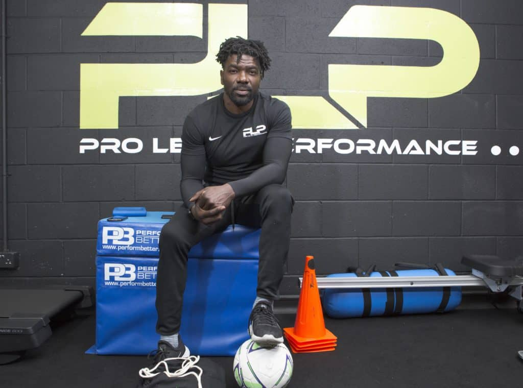 Tony Daley in the Pro Level Performance school
