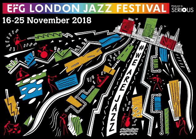 Poster for 2018 London Jazz Festival