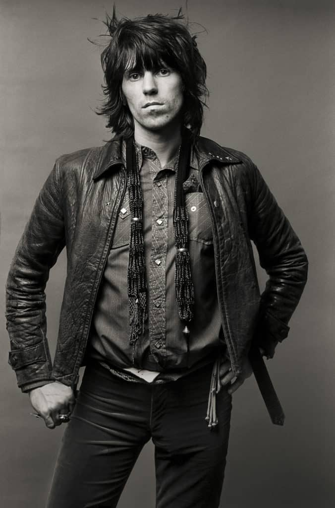 'Exile's OK', Keith Richards, 1972. Proud Galleries © Norman Seeff