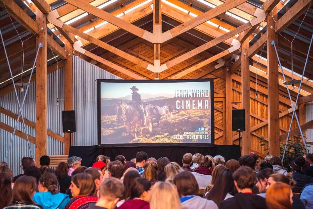 The Farm Yard Cinema in Lambeth