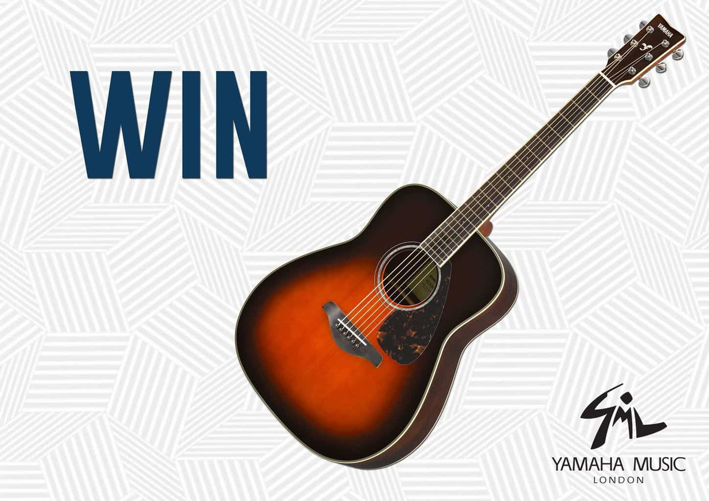 WIN a Yamaha FG830 Acoustic Guitar » The MALESTROM