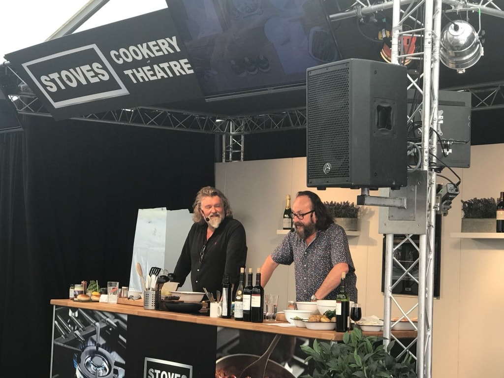 The Hairy Bikers at Delicious Doncaster food festival