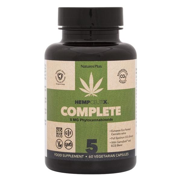 A bottle of Hempceutix complete