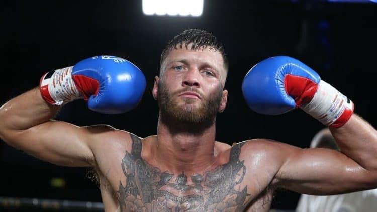 Boxer Mitchell Frearson poses