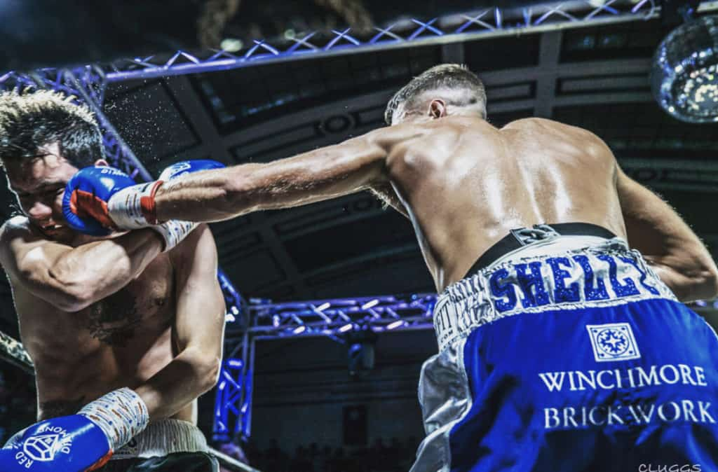 Boxer Mitchell Frearson in action